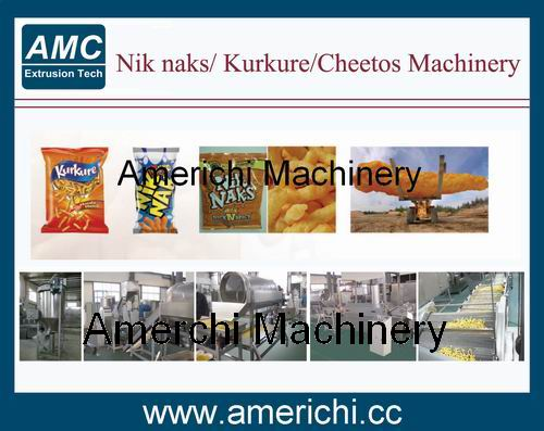 H01 Nik Naks/Cheetos/Kurkure Machinery